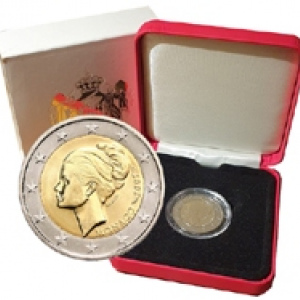 Coffret BE 2 Euros commémorative Princesse Grace Monaco 2007